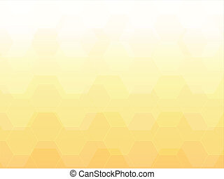 light yellow polygon abstract background