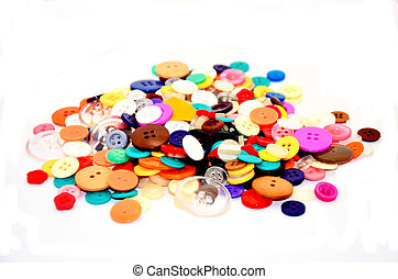 Buttons Colorful