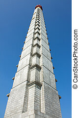 Juche Tower - Tower of the Juche Idea North Korea