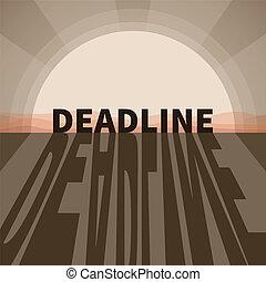 Vector deadline concept