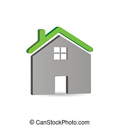 Home Icon, Vector Illustration - Home icon vector...
