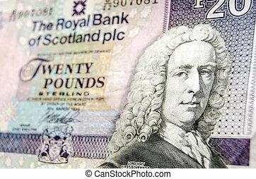Scottish Banknote detail