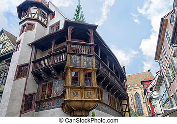 Historical Maison Pfister in Colmar, France