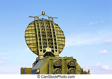 Radar antenna - Multifunction parabollic radar antenna, made...