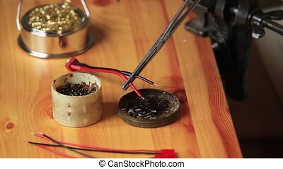 Soldering tin wire - processing wires for soldering tin