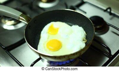 fried egg - egg