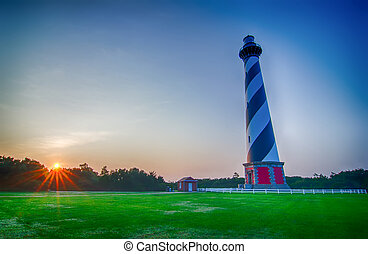 Cape Hatteras Lighthouse, Outer banks, North Carolina - Cape...