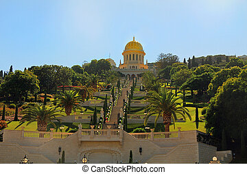 Shrine of Bab and its Gardens in Ha - Beautiful Shrine of...