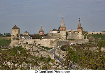 The main city landmark - the old fortress