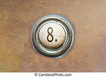 Old button - 8