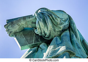 Liberty Tablet  - The Statue of Liberty holding the tablet