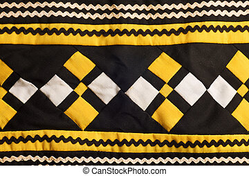 Seminole handmade quilted patterns - Native American...
