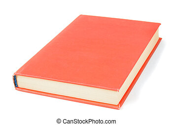 The book On white background - The book On a white...