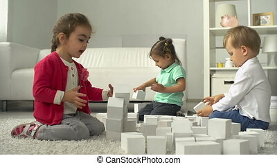 Future Architects - Three little friends playing with...