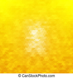 Abstract geometric background of triangular polygons. for...