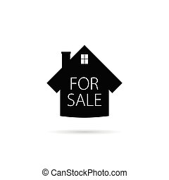 for sale icon house vector