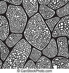 seamless background abstract - Seamless background black and...