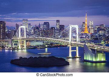 Tokyo Bay - Tokyo, Japan at Tokyo Bay