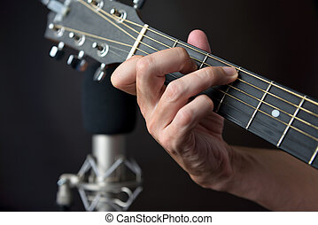 C7 Sustained Chord Fingering On Guitar