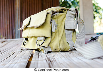 Camera Bags in the cottage
