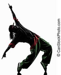 hip hop acrobatic break dancer breakdancing young man...