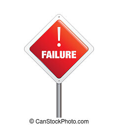 Failure sign