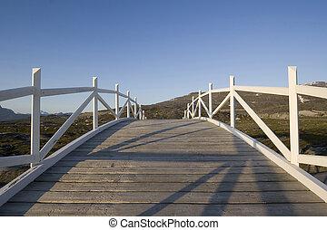 Bridge to nowhere - Bridge leading absolutely nowhere Really...