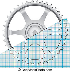 Drawing gears