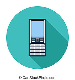 Phone single icon.