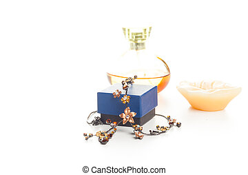 necklace perfume and candle - fashion necklace with box,...