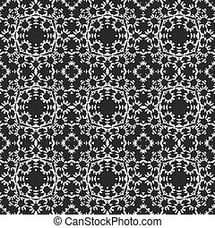 Curtain lace seamless generated texture or background