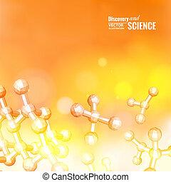 Atom molecule.