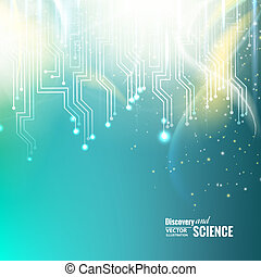 Abstract science background. - Abstract science background...