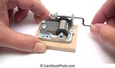 Small Music Box - Canon HV30. HD 16:9 1920 x 1080 @ 25.00...