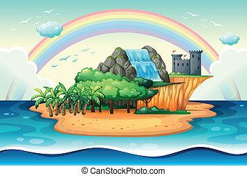 Island - Illustration of an island