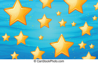 Star background - Illustration of star background