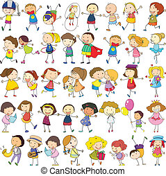 Children  - Illustration of children