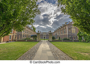 St Catharines College at Cambridge University, England