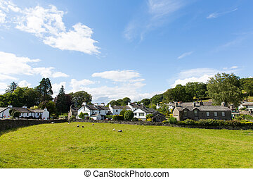 Near Sawrey village Beatrix Potter - Near Sawrey country...