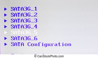 Computer screen data information