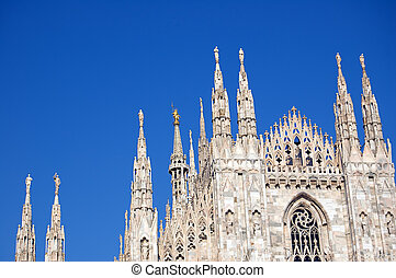 Cathedral in Milan, Duomo - The famous Duomo, cathedral...