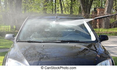 car windscreen wash