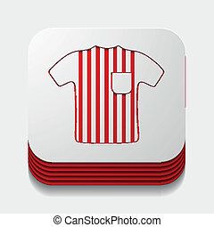 square button: referee