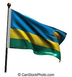 High resolution flag of Rwanda - Flag of Rwanda. High...