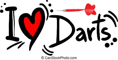 darts love - Creative design of darts love