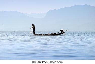 Traveling to Myanmar, Inle lake
