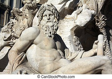 Fountain of the Four River ( - Fontana dei Quattro Fiumi...