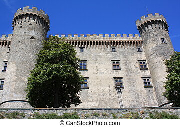 Castle Odescalchi in Bracciano (Rome, Italy) - This is the...