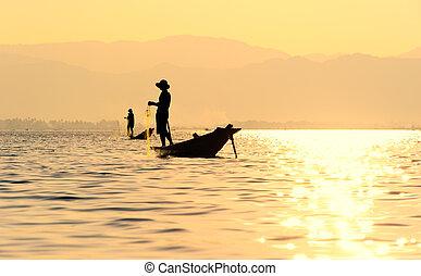 Inle Lake fiserman, Myanmar - Traveling to Myanmar, outdoor...
