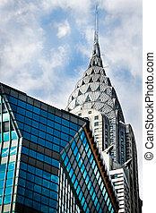 Chrysler Building - The Chrysler Building in Manhattan, New...